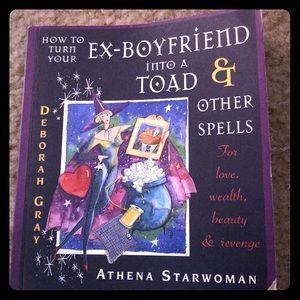 How to turn your ex boyfriend into a toad book